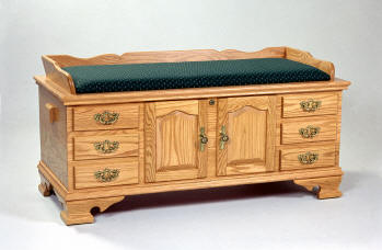 Fancey Front Hope Chest